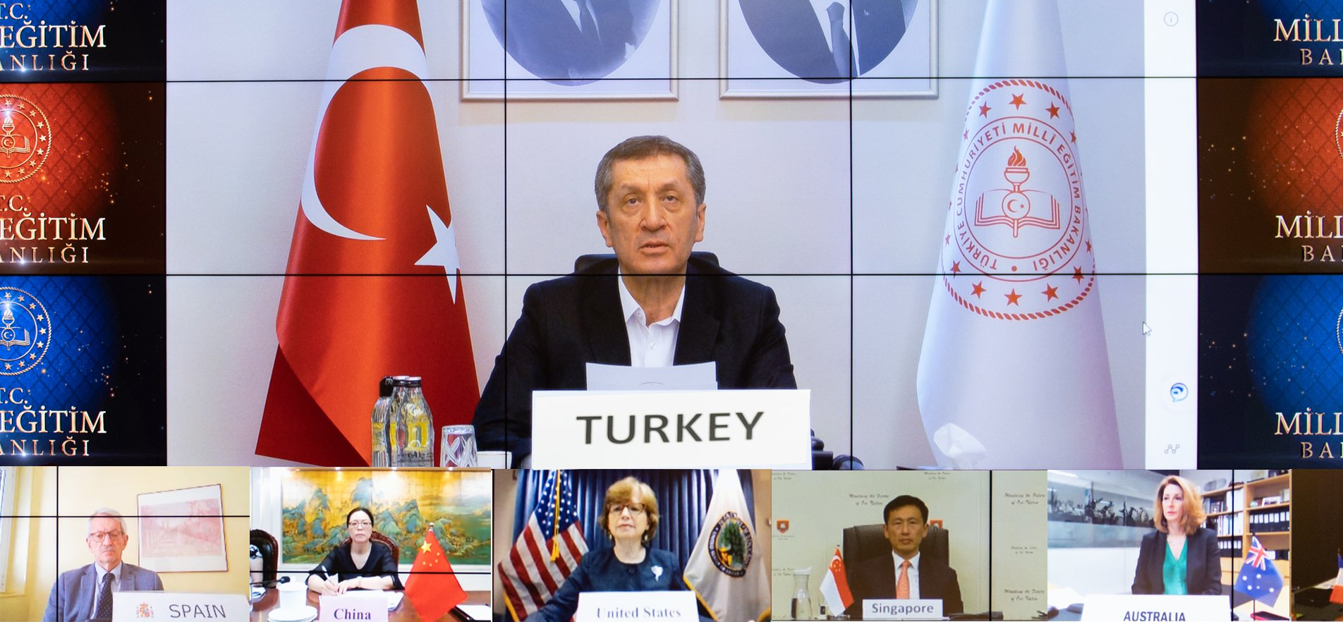 MINISTER SELÇUK TALKS ABOUT TURKEY'S COVID-19 EXPERIENCE TO G20 COUNTRIES